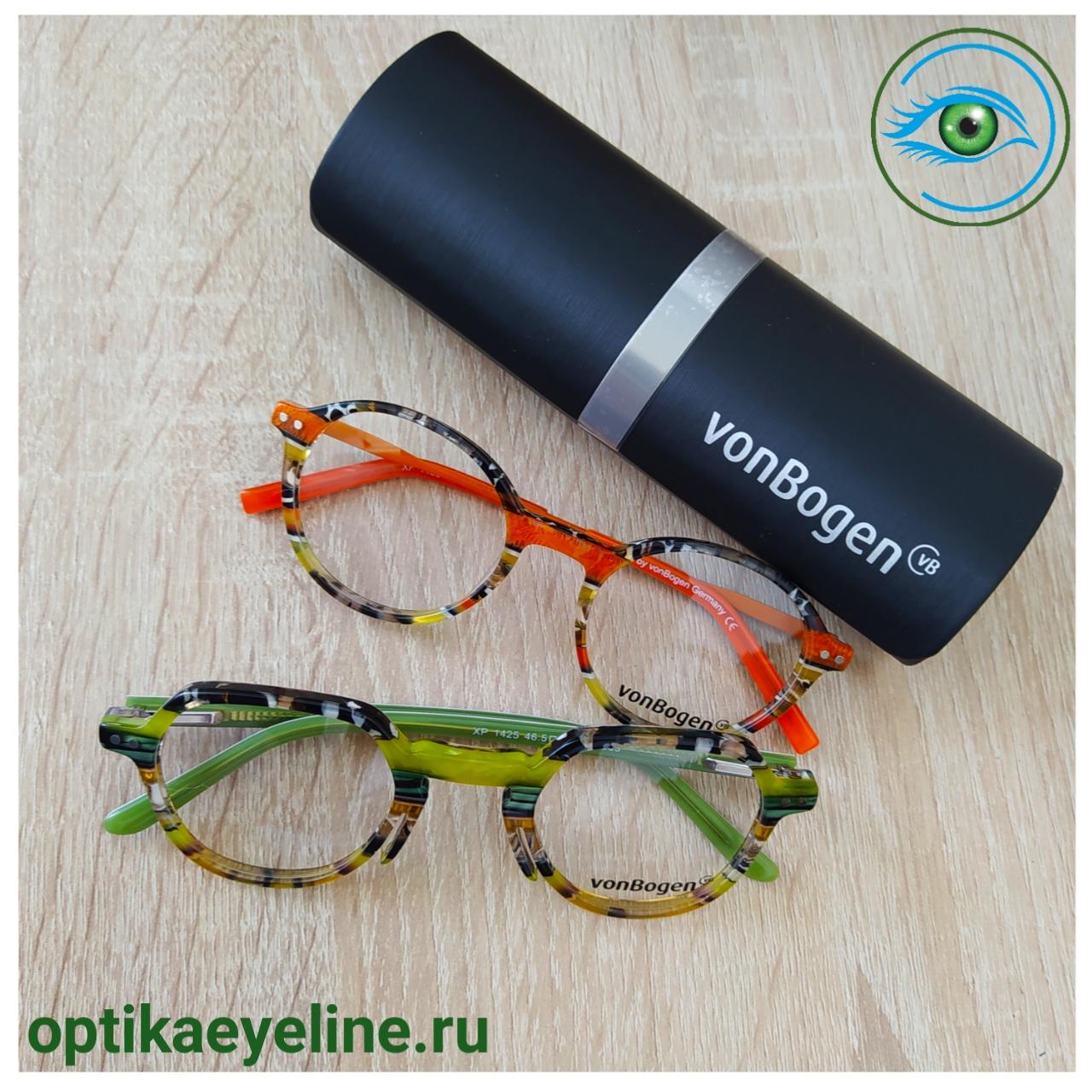 Фото оправа VonBogen с футляром в оптике Eyeline