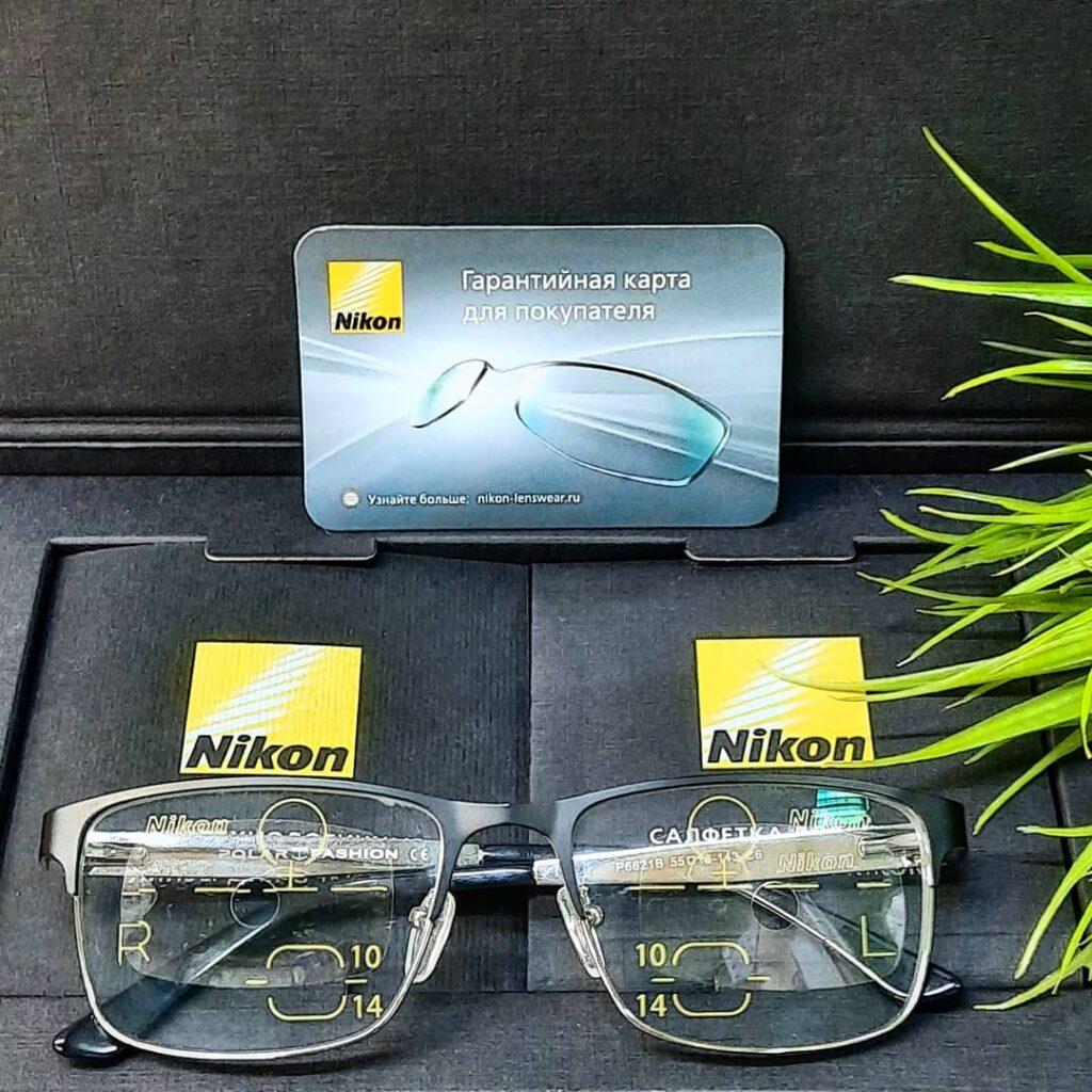 Индивидуальные очки с прогрессивными линзами Nikon Никон в оптике Eyeline Новороссийск